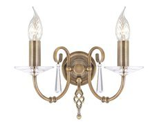 Elstead Lighting Aegean AG2 AGED BRASS