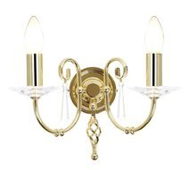 Elstead Lighting Aegean AG2 POL BRASS