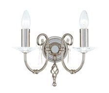 Elstead Lighting Aegean AG2 POL NICKEL