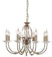 Elstead Lighting Aegean AG8 AGED BRASS