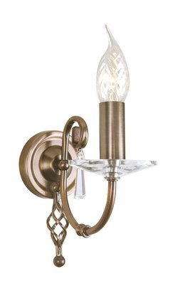 Elstead Lighting Aegean AG1 AGED BRASS
