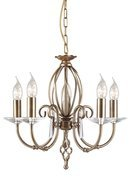 Elstead Lighting Aegean AG5 AGED BRASS